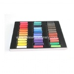 36 color soft pastel/soft pastel chalk/hair chalk